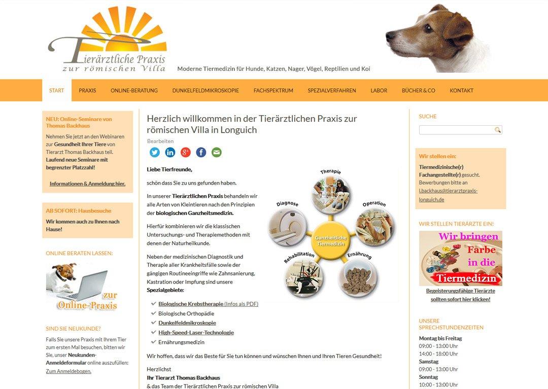 Tierarztpraxis zur römischen Villa, Longuich