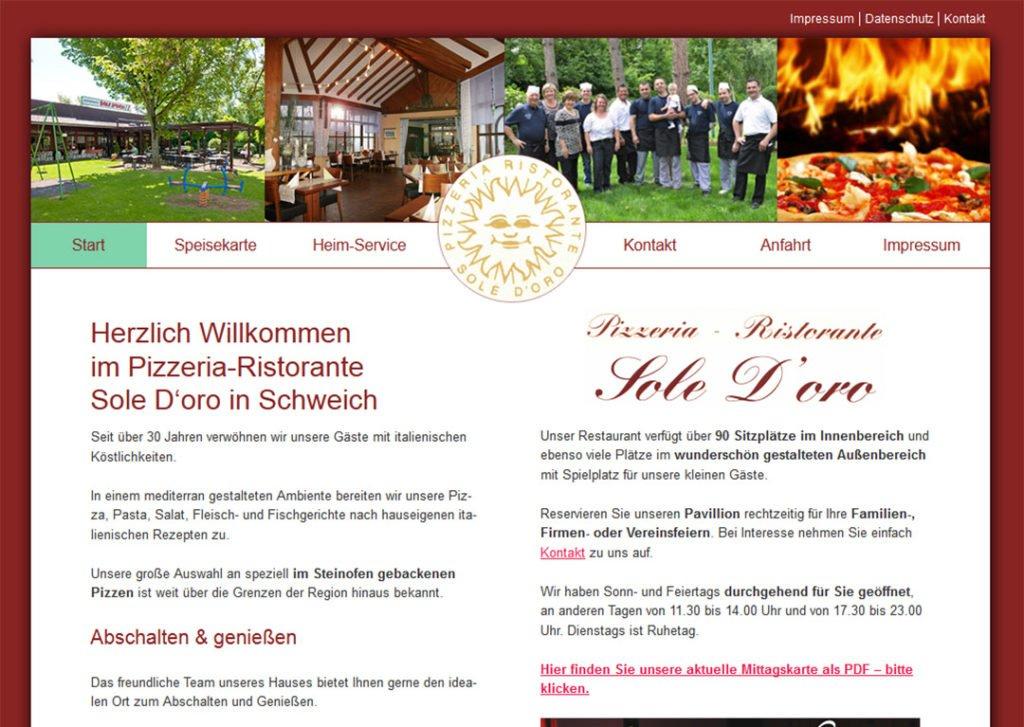 Pizzeria Sole D'oro, Schweich