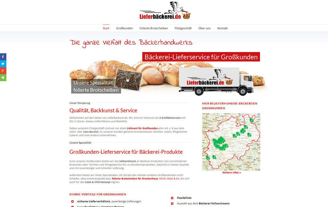 Lieferbaeckerei.de – Neue Homepage aus der rhein-konzept-Produktion
