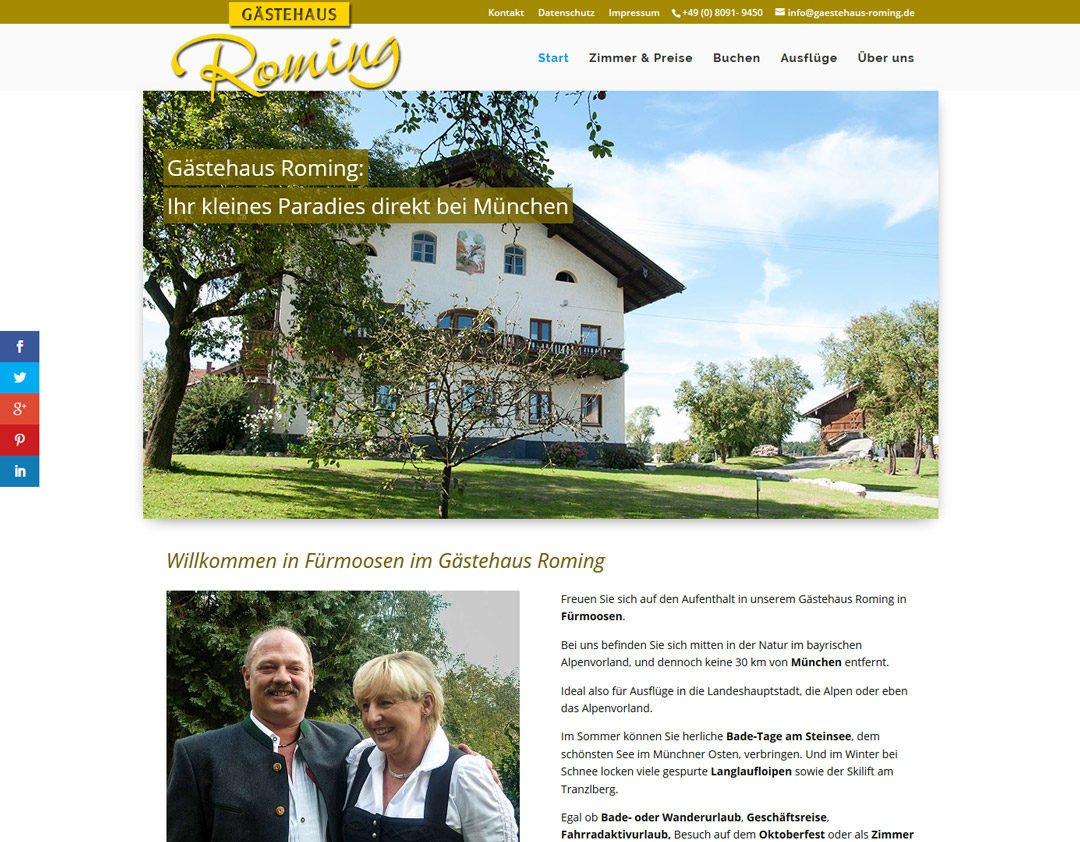 Gästehaus Roming, Fürmoosen bei München