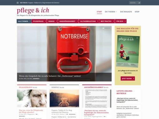 Pflege & Ich, PPM PRO PflegeManagement Verlag & Akademie, Bonn
