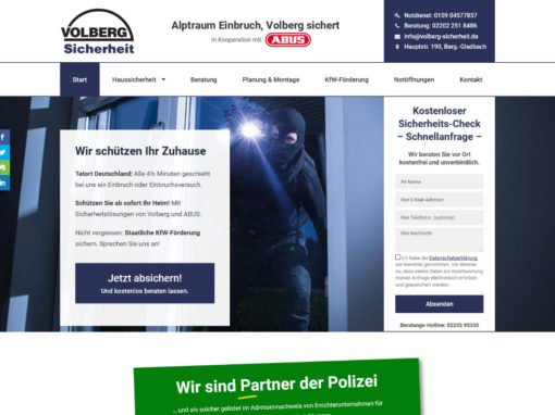 Volberg Sicherheit, Bergisch-Gladbach
